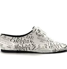 Sapato autografado
