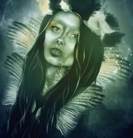 """Ilustração - """"Magical Feathers"""""""
