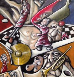 Pintura - Vitor Zapa - (sem título 2)