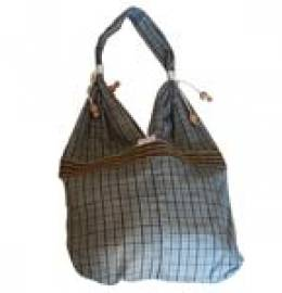 Ethical Tot Bags Coloured Checks (Khadi)