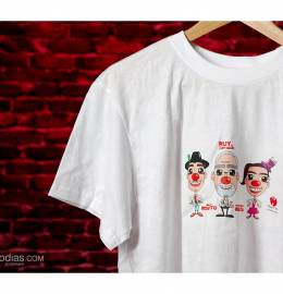 T-shirt Palhaços d'Opital & Ruy de Carvalho