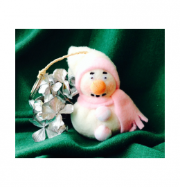 Boneco de Neve Porta Chaves