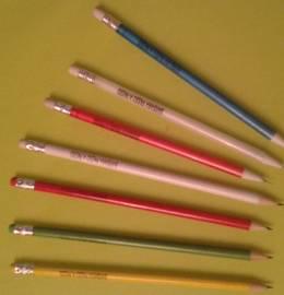 Lápis ou porta-minas Bárbara Passo a Passo