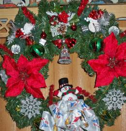 Custom designed wreaths