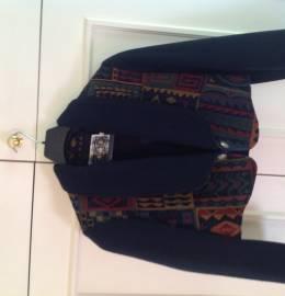 blusão etnico em lã