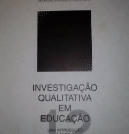 Livro: Investigação Qualitativa em educação