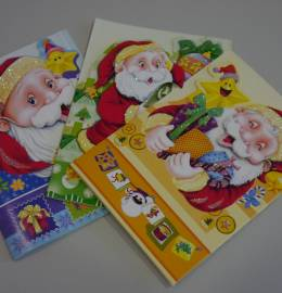 Postais de Natal (pack 3 postais)