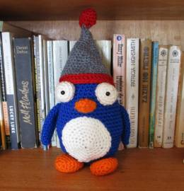 Boneco em crochet - Amigurumi - Pinguim