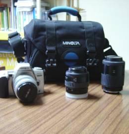 Máquina Fotográfica(analógica),marca Minolta