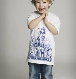 T-shirts Criança Rapaz (tamanhos XS, S, M e L)