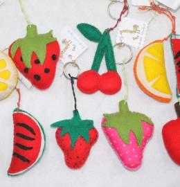 Porta-chaves Frutas