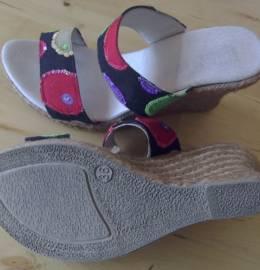 Sandálias cunha de corda PENTA/ NATURA SELECTION