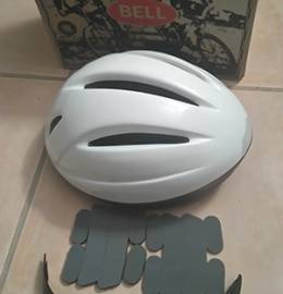 Capacete bicicleta Bell branco