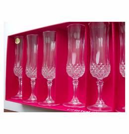 6 Flutes de Champanhe - Cristal D'Arques