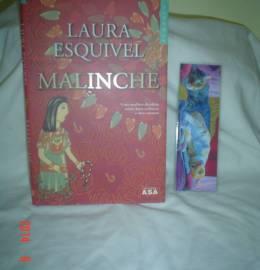 LIVRO Malinche + separador de gatos de Laura Esquível
