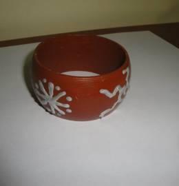 pulseira pintada a mão