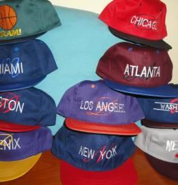 Coleção bonés da Equipas de Basket Norte-Americanas