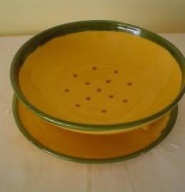 peça em ceramica para lavar uvas