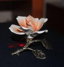 Flor porcelana/biscuit