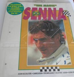 Ayrton Senna - Coleção de Cards + Álbum - 1995 - MUITO RARA