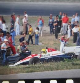 Ayrton Senna - Slides (35 mm) Originais, nunca revelados