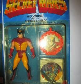 Wolverine - Avengers / Vingadores - Secret Wars - Figura de Ação da Marvel - 1984