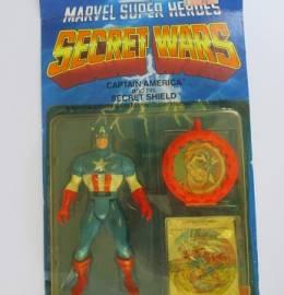 Capitão América - Avengers / Vingadores - Secret Wars - Figura de Acção - 1984