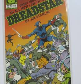 Dreadstar #1 - B.D. - Banda Desenhada - Marvel - 1982