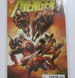 B.D. - Avengers #1 / 2010 - Variante de John Romita Sr. - Marvel