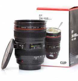 Caneca Estilo Lente Canon 24-105mm
