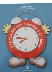 O relógio que tem a barriga a dar horas