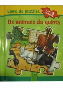 Livro de puzzles - os animais da quinta