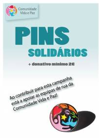 Pin Solidário