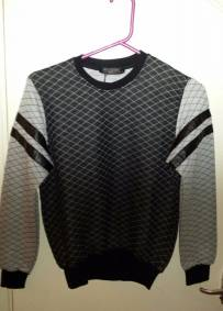 Stylish Black & Grey Jumper