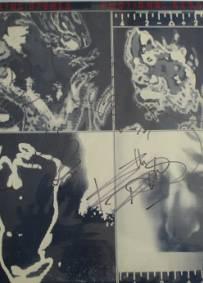 ROLLING STONES - Álbum LP Autografado / Assinado - C/ Certificado
