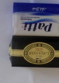 Sabonete Patti 90g mais sabonete Alfazema 125 Grs ACH Brito
