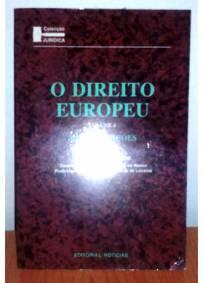 Livro o direito Europeu