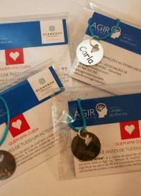 Medalha Solidária ''Cuidar é Amar'' - (com nome personalizado)