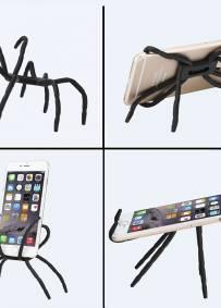 Aranha - Suporte para telemóvel