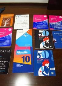 Conjunto livros exercícios FILOSOFIA