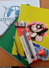 Kit Escolar para Moçambique