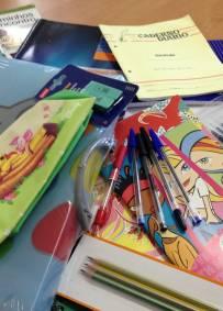 Bolsa de Material Escolar para Moçambique