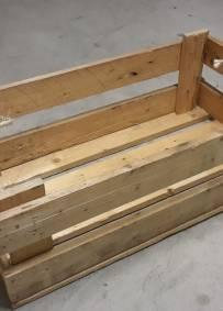 Caixa de madeira multiusos