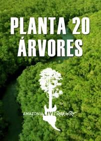 20 árvores R$90 - Taxas R$12