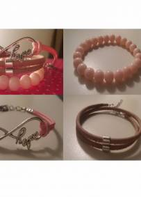 conjunto 3 pulseiras