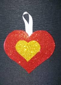 Pendente Coração Vermelho