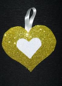 Pendente Coração Dourado