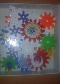 Puzzle montagem relógio parede didáctico