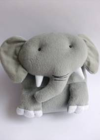 Porta CDs Elefante