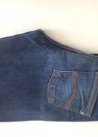 calças novas de ganga de mulher nº 42
